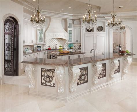 timeless baroque kitchen designs