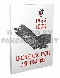 1966 Buick Fisher Body Parts Illustrations Manual Reprint
