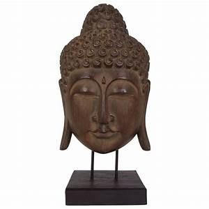 Thomas Philipps Onlineshop Buddha Maske Aus Albizia Holz