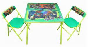 tmnt activity table and chairs set walmart ca