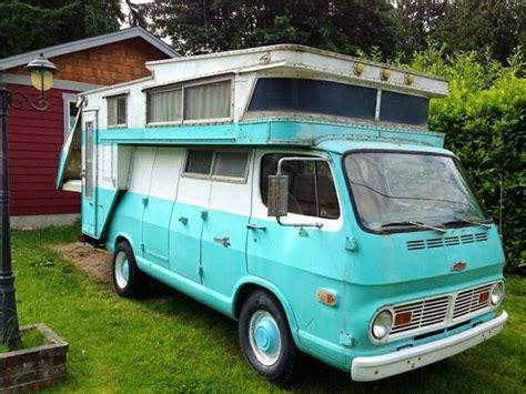 Used Rvs 1968 Chevrolet Camper Van, Kamp King Koach For