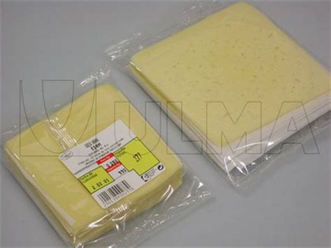 Modified Atmosphere Packaging For Cheese by Cheese Slices Packaging In Flow Pack Wrapper Hffs In