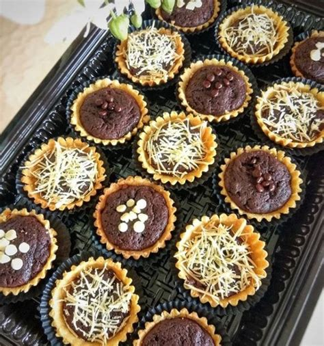 Parcel Coklat Mini resep cara membuat pie brownies en 2019 resep kue