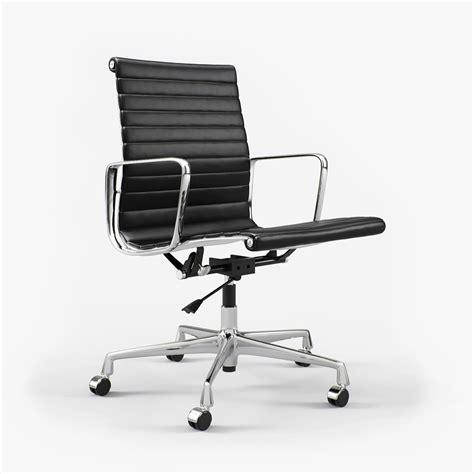 Vitra Charles Eames Chair by Vitra Charles Eames Aluminium Chair Ea 117 I 3d