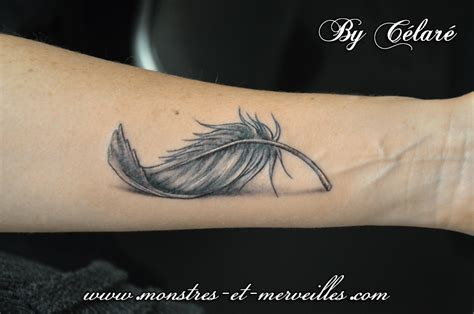 Plume Tatouage Sur Avant Bras  Tatoo, Tattoo And Tatoos