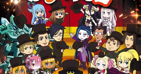 isekai quartet characters assemble  season  visual