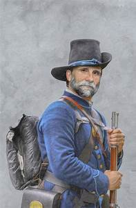 Union Soldier American Civil War Digital Art by Randy Steele