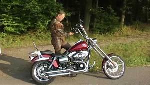 Harley Davidson Auspuff : harley davidson mit penzl auspuff youtube ~ Jslefanu.com Haus und Dekorationen