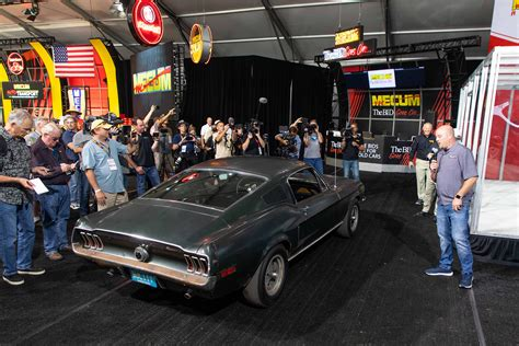 Comprehensive, collision, and liability insurance costs around $406, $592, and $470, respectively. 1968 Ford Mustang Bullitt - Mecum Auctions Jan 2020 Photo Gallery | Autoblog