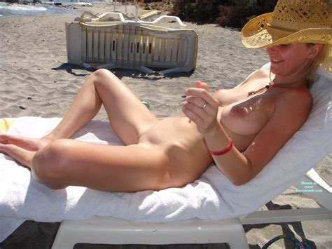 Shaved Nude In Beach Lounger October Voyeur Web Hall Of Fame