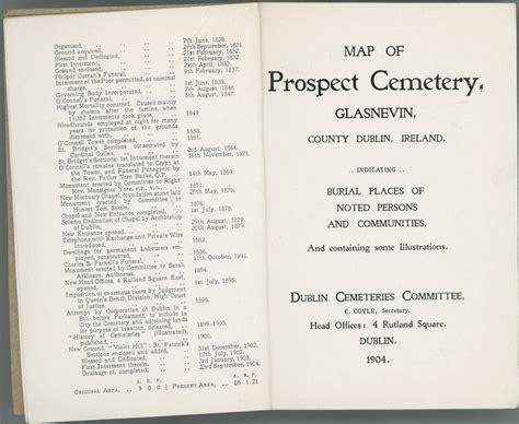 map  prospect cemetery glasnevin county dublin