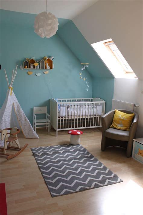 chambre garcon bleu gris beautiful chambre enfant bleu ideas seiunkel us