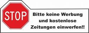 Briefkasten Keine Werbung : aufkleber keine werbung briefkasten keine kostenlose zeitung ~ Orissabook.com Haus und Dekorationen