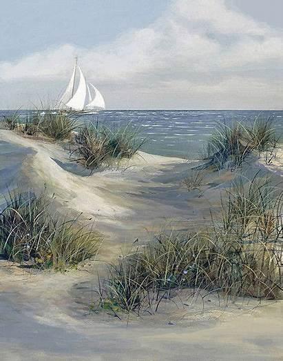 Path Dune Paintings Painting Landscape Penney Jacqueline