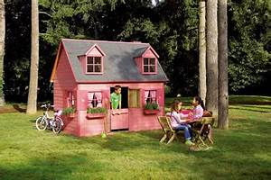 Grande Cabane Enfant : cabane de jardin grande maisonnette en bois ~ Melissatoandfro.com Idées de Décoration