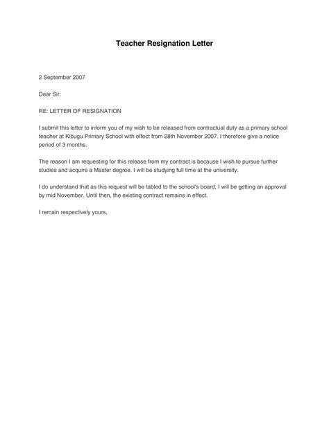 50 BEST Teacher Resignation Letters (MS Word) ᐅ TemplateLab