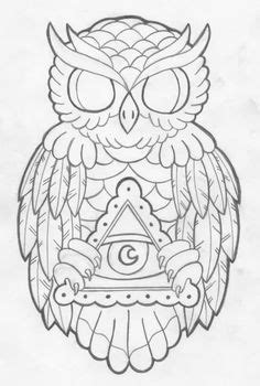36 Best Owl Tattoo Line images | Owl, Owl tattoo design