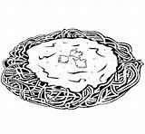 Spaghetti Cheese Coloring Colored Df Colorear Pasta Coloringcrew Bread sketch template