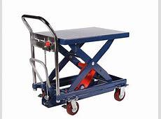 Solid Steel Trolley Jack Pallet Hydrulic Lift Scissor