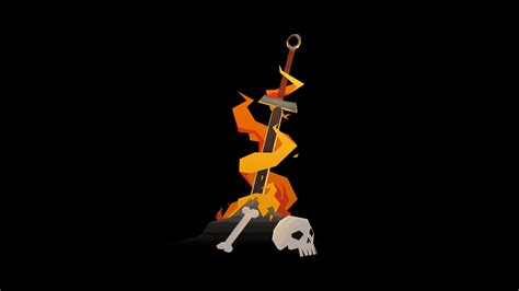 Bloodborne Animated Wallpaper - animated souls bonfire by troedder on deviantart