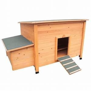 Plan Poulailler 5 Poules : poulailler fort en bois clair pour 3 a 5 poules pondeuses ~ Premium-room.com Idées de Décoration