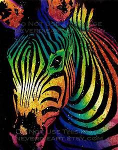 Zebra Painting | Artsy | Pinterest