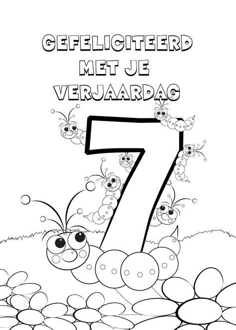 Verjaardags Kleurplaten Voor by 44 Kleurplaten Verjaardag O A Voor Papa Opa En Oma