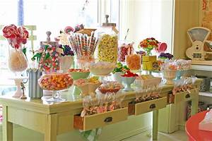 candy store display ideas