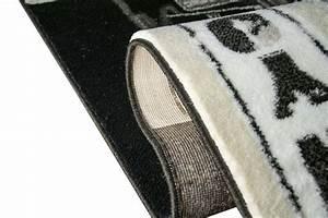 Teppich New York : designer teppich new york motiv grau schwarz ~ Orissabook.com Haus und Dekorationen