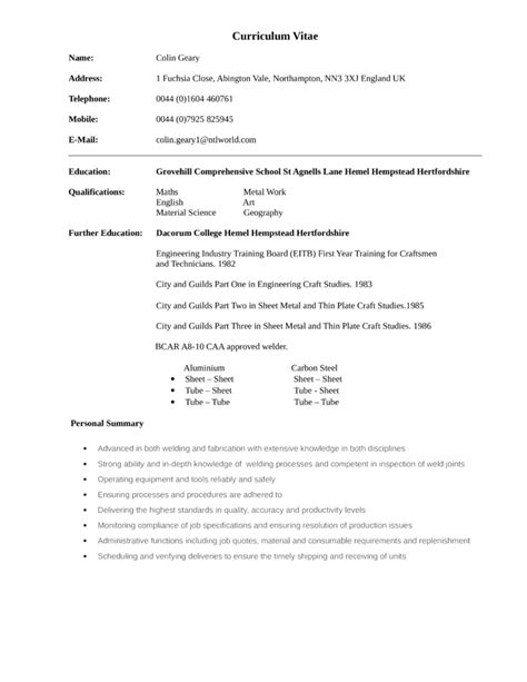 sle resume for welder helper cover letter helper