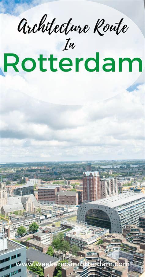 Architecture Route In Rotterdam