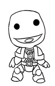Little Big Planet Free Coloring Pages Coloring Page Big Planet