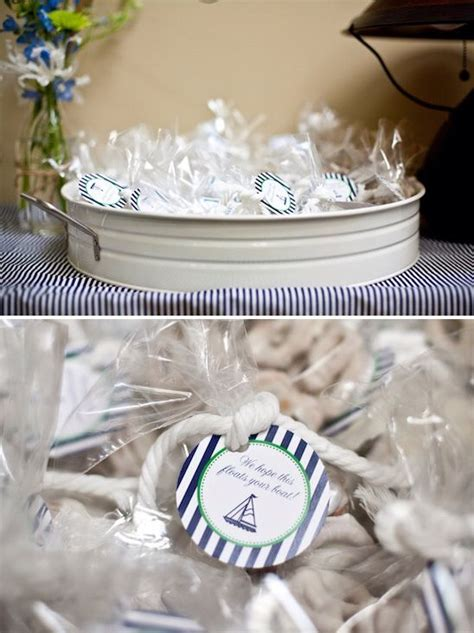 Nautical Theme Gift Bags With Treats  Event Inspiration