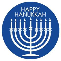 happy hanukkah tags blue from the oven