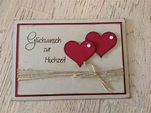 Karte Zur Hochzeit : stempellicht hochzeitskarte mit herzen ~ A.2002-acura-tl-radio.info Haus und Dekorationen