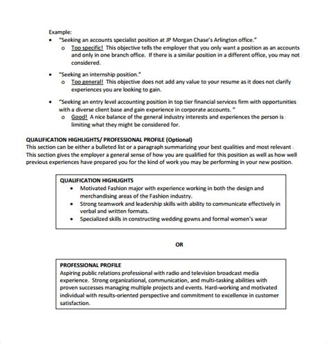 sle college student resume template 10 free
