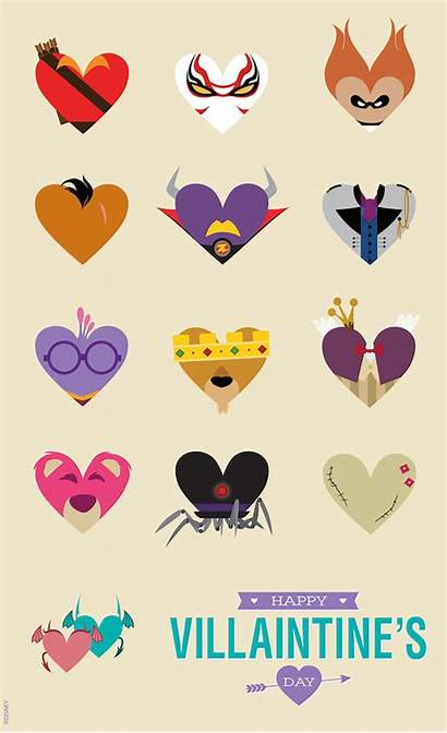 Villains Disney Villain Valentines Villians Parks Villaintine