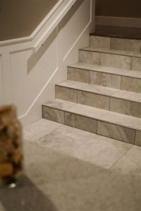 tile flooring on stairs 25 best ideas about tile on stairs on pinterest tile stairs wallpaper stairs and wall