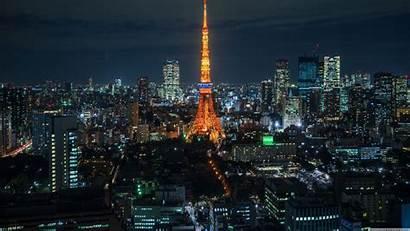 Tokyo Night Desktop Wallpapers Pro