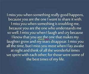 I Miss You Quotes. QuotesGram
