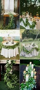 27, gorgeous, greenery, garland, wedding, ideas, for, 2017
