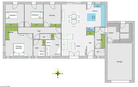 plan maison 4 chambres gratuit plan d appartement gratuit 0 plan maison rectangulaire
