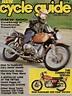 Cycle Guide juin 1974 - kawasaki kz400
