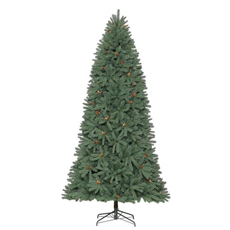 shop holiday living 9 ft unlit pine artificial christmas