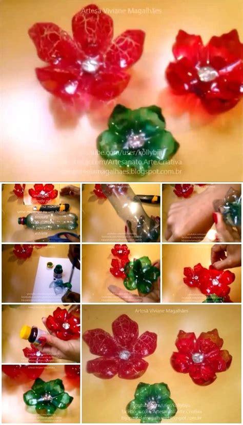 flowers  plastic bottles usefuldiycom