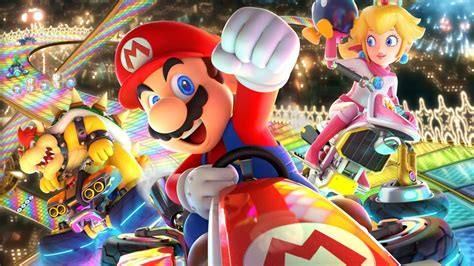 wallpaper mario kart  deluxe poster  games