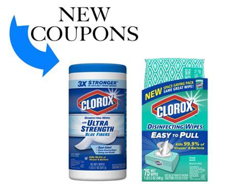 Save $1.00 on Clorox Disinfecting Wipes
