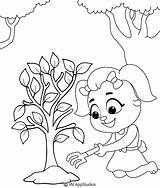 Coloring Plantation Printable sketch template