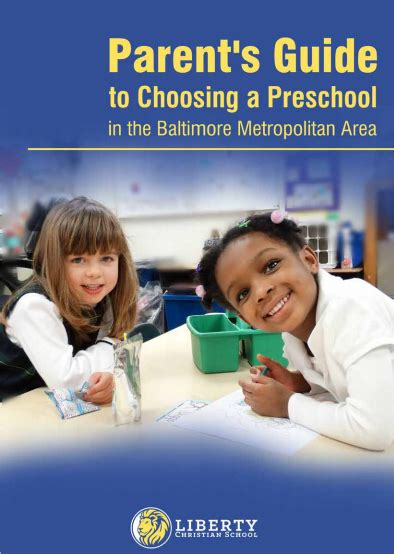parent guide to choosing preschool in baltimore metro area 307 | Preschool Guide Cover LIberty Christian 4 7 15