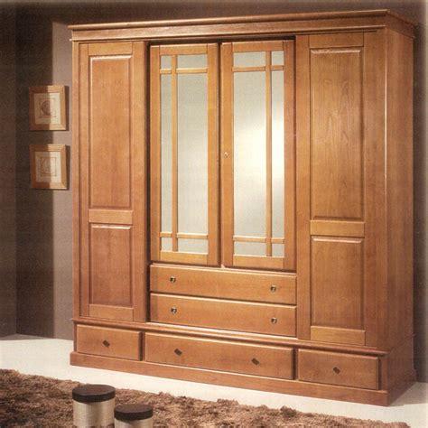 armoire chambre 4 portes meubles bois massifs meuble chêne massif lit armoire massif